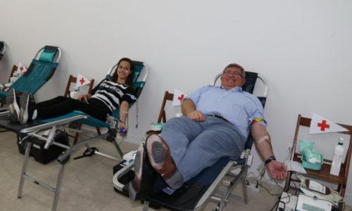 Gradonačelnik Obersnel darivao krv