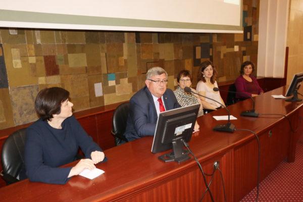 Marina Vicelja Matijašić, Vojko Obersnel, Ines srdoč Konestra, Palma Karković Takalić i Ivana Šarić Žic