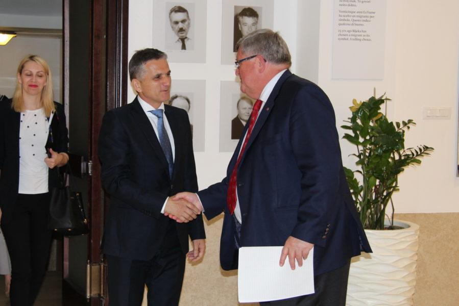 Ministar Marić na radnom sastanku u Gradu Rijeci