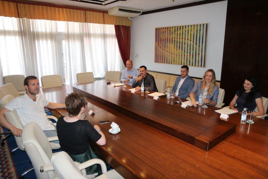 Radni sastanak na temu kulture s delegacijom Grada Vrgorca