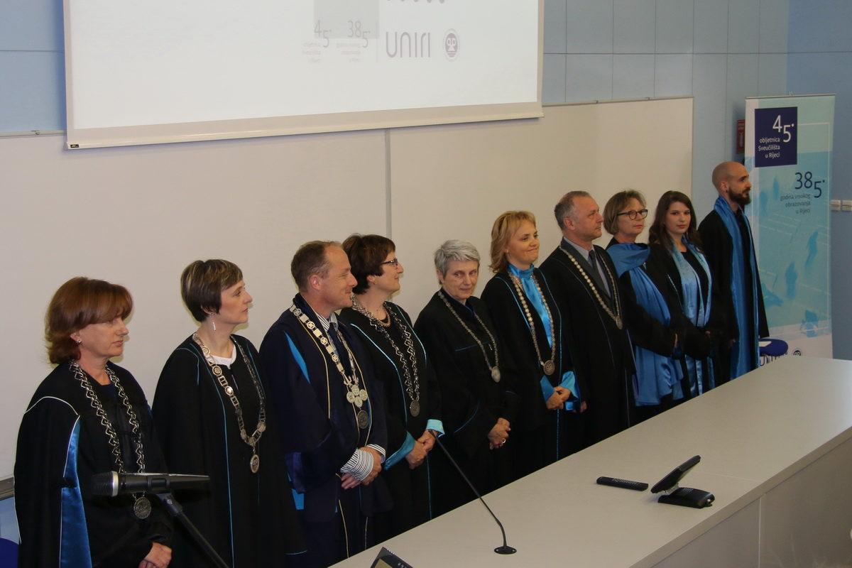 Sveučilište u Rijeci obilježilo 45 godina postojanja