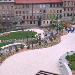 Park se prostire na površini od pet tisuća metara kvadratnih