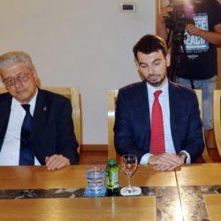 Guido Brazzoduro i talijanski konzul Paolo Palminterii