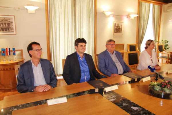 Marko Filipović, Valter Glavičić, Vojko Obersnel i Sanda Sušanj