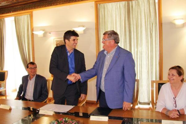 Ugovor su potpisali gradonačelnici Labina i Rijeke