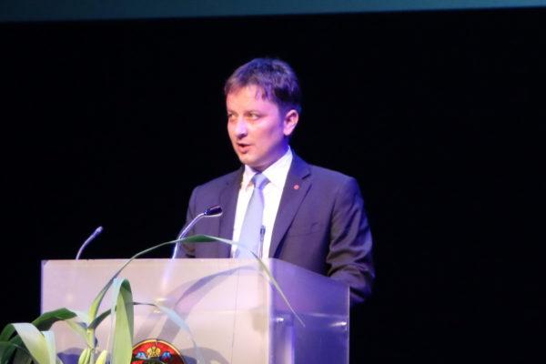 Predsjednik Gradskog vijeća Grada Rijeke Andrej Poropat