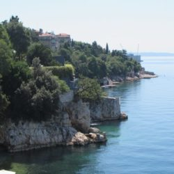 Pogled sa terase hotela Jadran