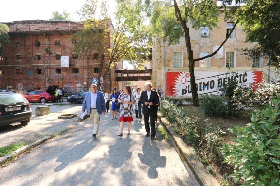 Posjet ministrice Žalac kompleksu Benčić