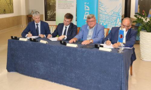 Potpis ugovora o sufinanciranju projekta vodno-komunalne infrastrukture