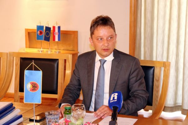 Predsjednik Gradskog vijeća Andrej Poropat