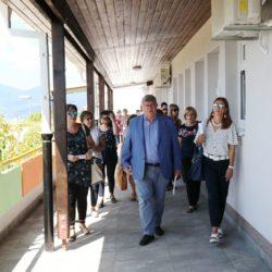 Tajana Jukić Neznanović, gradonačelnik Vojko Obersnel, Denis Šulina