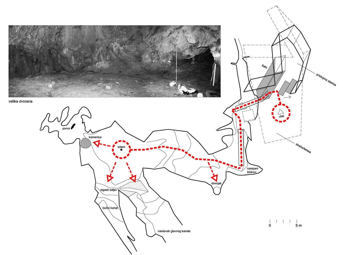 Idejni projekt uređenja Zametske pećine