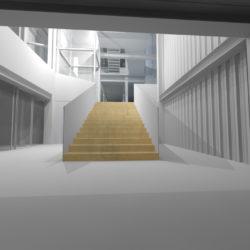 Pogled prema stubištu