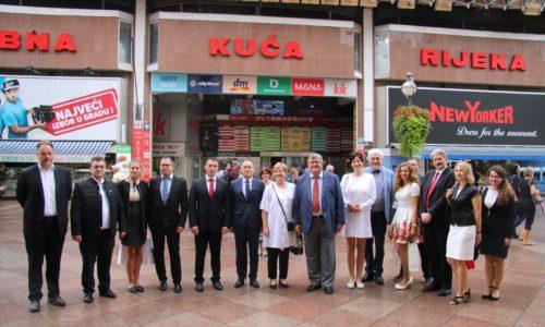 Mađarski predstavnici u posjetu Rijeci
