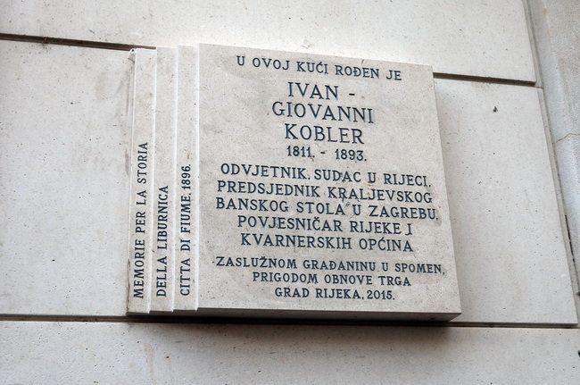Spomen ploča Ivanu Kobleru