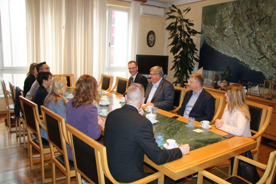 Održan sastanak s delegacijom kanadskog grada Guelpha