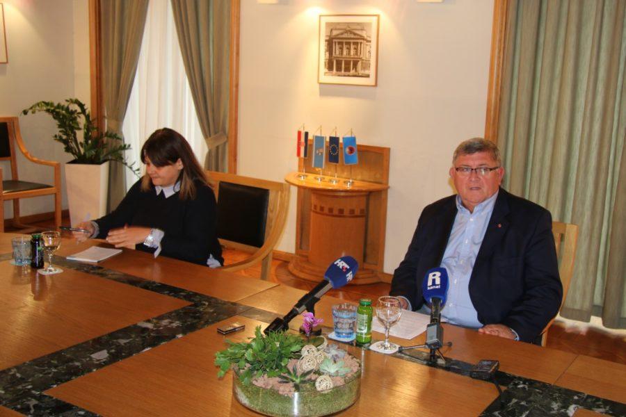 Redovna gradonačelnikova press konferencija 30.10.2018