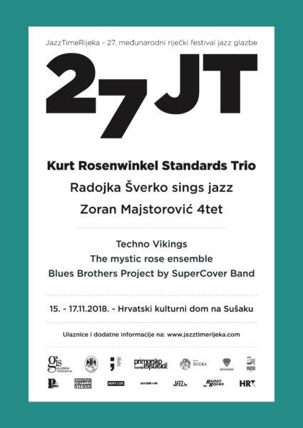 Najavljen 27. festival JazzTime Rijeka