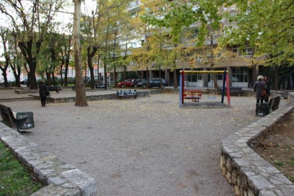 Dječje igralište na Školjiću prije uređenja