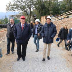 Gradonačelnik Vojko Obersnel, zamjenici Marko Filipovićo i Nikola Ivaniš, Andrej Poropat