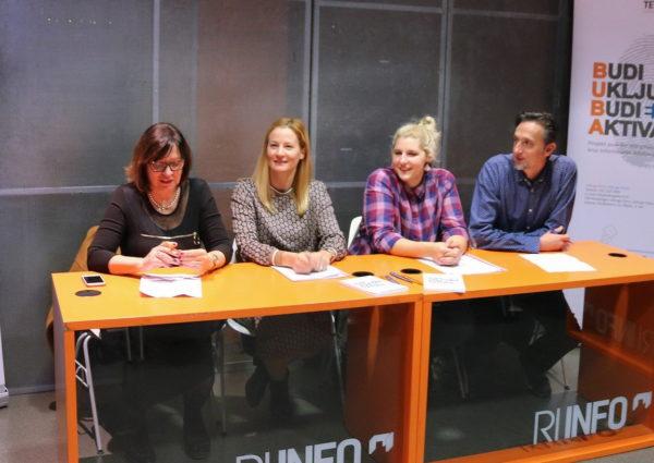 Dinka Serdarević, Ivona Maričić, Dajana Lukač, Dejan Travica