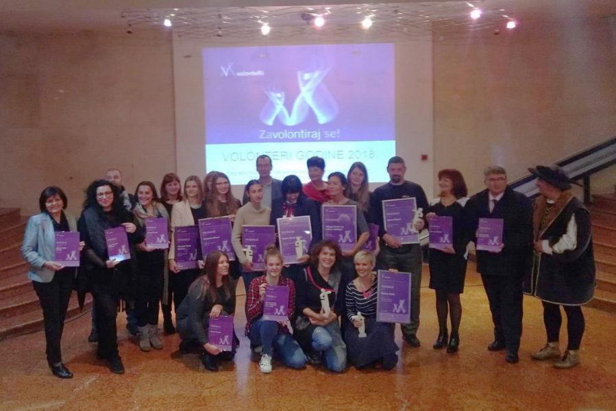 Nagrade volonterima 2018