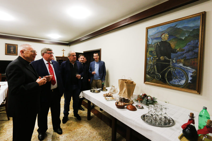 Predstavnici Grada čestitali Božić čelnicima Katoličke crkve u Rijeci