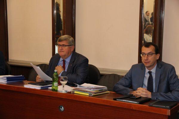 Gradonačelnik Rijeke Vojko Obersnel sa suradnicima