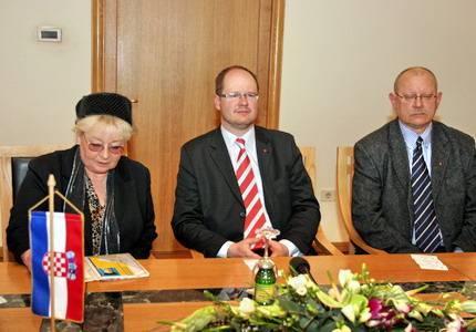 Delegacija Gdanjska u Rijeci