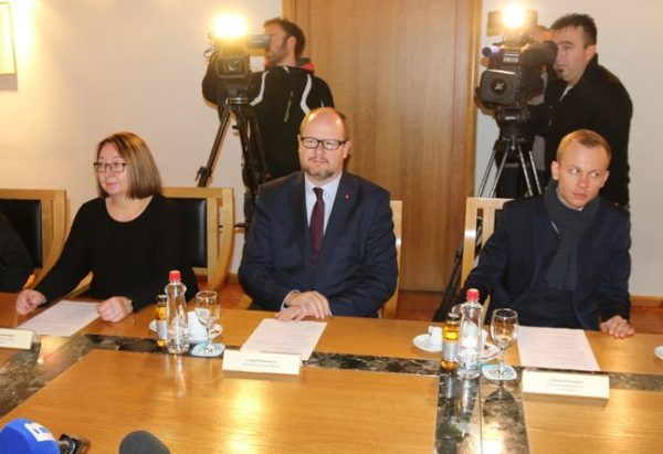 Gradonačelnik Gdanjska i suradnici