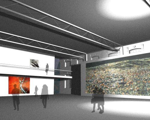Idejno arhitektonsko rješenje prenamjene T-građevine u Muzej moderne i suvremene umjetnost