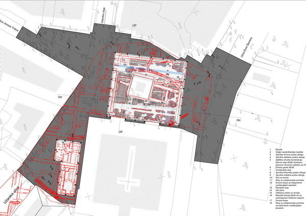 Idejno arhitektonsko-urbanističko rješenje uređenja Trga pul Vele crikve