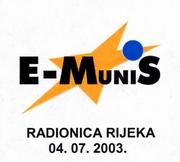 Logotip E-Munis radionice