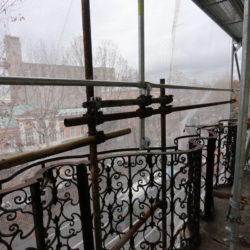 Radovi na fasadi koja gleda na Zvonimirovu ulicu