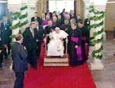Papa u svetištu Majke Božje Trsatske