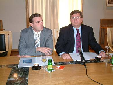 Petar Skarpa i Vojko Obersnel