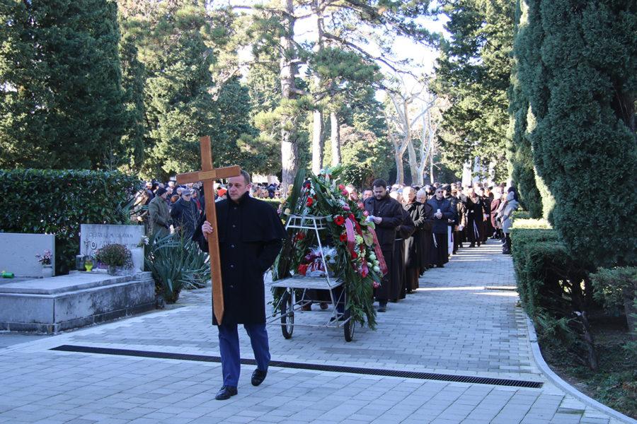 Pokopan fra Emanuel Franjo Hoško