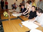 Potpis ugovora za projekte uredenja Benčića