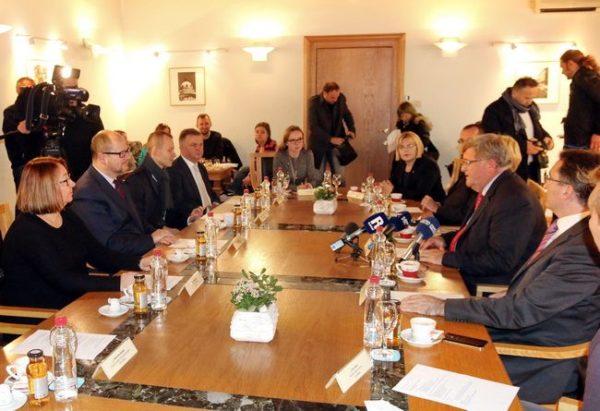 Prijam za izaslanstvo Gdanjska
