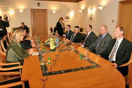 Prijem za delegaciju Gdanjska