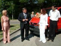 Svečana primopredaja vozila Novi kombi Službi za pomoć i njegu u kući