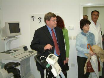 ojko Obersnel - sa otvaranja kardiološkog laboratorija KBC-a Rijeka