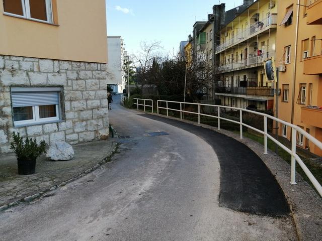 Mjestimična sanacija kolnika - Jelićeva
