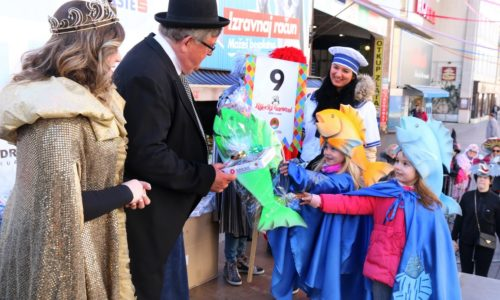 Prijam za sudionike Dječje karnevalske povorke