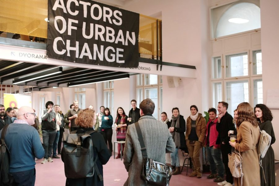 Učesnici programa Actors of Urban Change