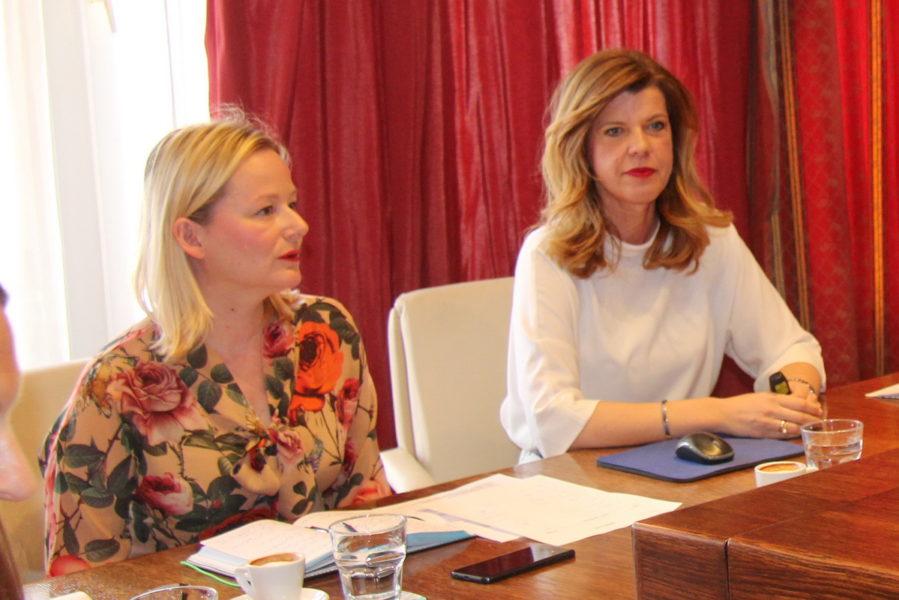 Biljana Borzan na tematskoj sjednici Odbora za ravnopravnost spolova