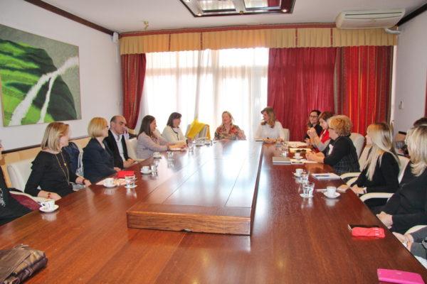 EU zastupnica Biljana Borzan na tematskoj sjednici Odbora za ravnopravnost spolova