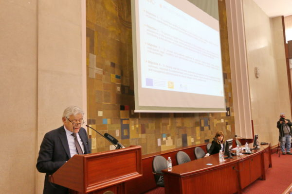 Prof. Luigi Fusco Girard govorio je o glavnim elementima CLIC projekta