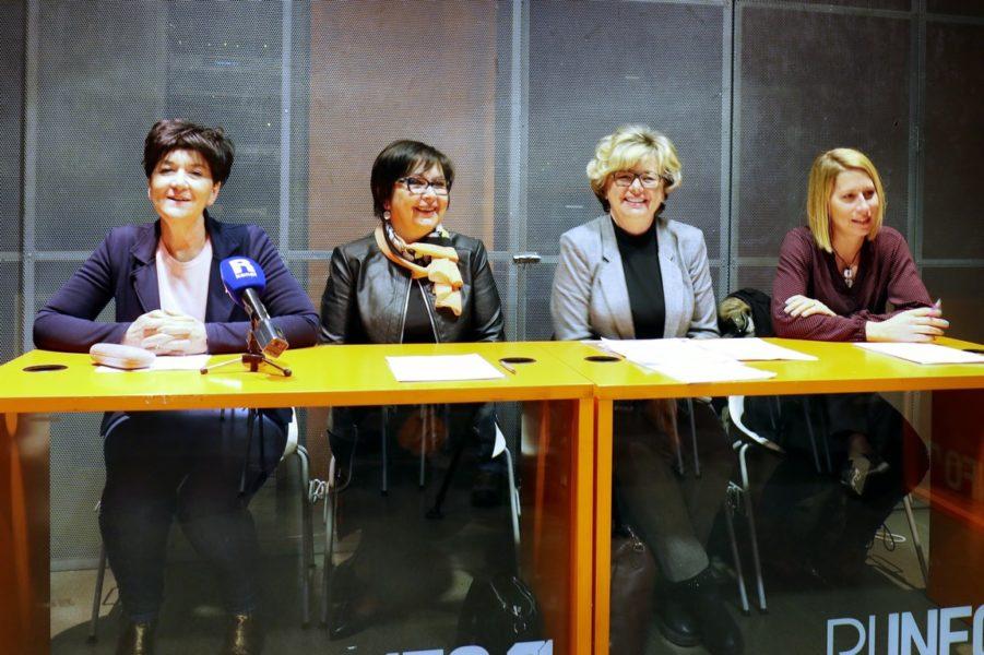 Tea Mičić, Davorka Guštin, Lahorka Jurčić, Linda Frković Lenac