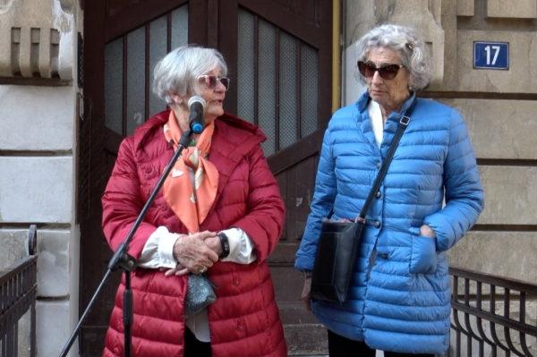 Sestre Andra i Tatiana Bucci koje su kao djevojčice odvedene u nacističke logore
